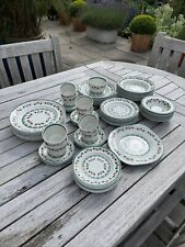 More details for wood & sons bargee/ hardy amies  68 piece part dinner service 1980's