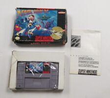 Mega Man X (Super Nintendo Entertainment System, 1993) WITH BOX