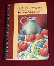 New listing ST. MATTHEW CATHOLIC CHURCH Tyrone, GA 2005 COOKBOOK A Taste of Heaven GEORGIA