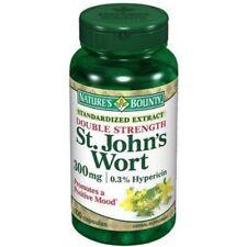 Nature's Bounty St. John's Wort 300 mg Capsules, 100 count