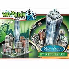 New York Collection World trade District 3D Puzzle 875 Pcs WREBBIT