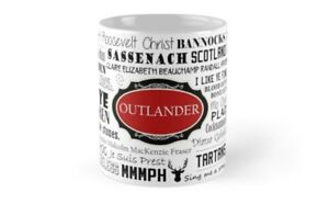 Outlander - Red 11 Oz & 15 Oz Mugs