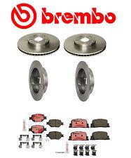 Genuine Brembo  Front & Rear Rotors + Brake Pads for Scion TC