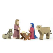 Heilige Familie II Ostheimer 5-teilig Nr. 42110 Holzfiguren Krippenfiguren