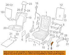 VW VOLKSWAGEN OEM Second Row Back Rear Seat-Recline Handle Lever 3CN88559882V