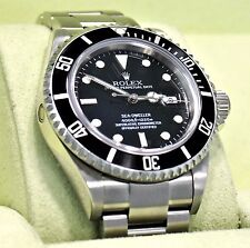 Rolex SEA-DWELLER 16600 Steel Oyster Date Men's Diver Watch BOX/PAPERS *MINT*