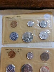 3- 1961 Proof Sets. Beautiful sets all government paper work included.