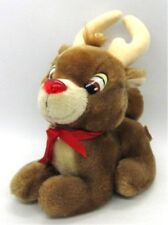 Rudolph the Red Nosed Reindeer Plush Applause Stuffed Animal Christmas Holiday