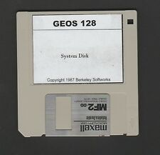 Commodore 128 - GEOS 128 - 3.5 inch Disk