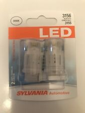 Sylvania 3156 LED Cool White Also fits Compatible 3155  2 Lamps