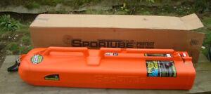 Wheeled Ski Tube Series 2 Sportube, Ski Carrier, Fishing Rod Case, Bag- Orange