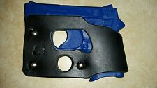 Smith and Wesson M&P Bodyguard 380 (NO laser) black leather shoot thru holster