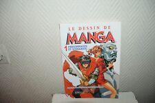 LIVRE LE DESSIN DE  MANGA  n° 1 PERSONNAGE ET SCENARIO EYROLLES BOOK