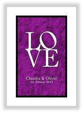 Liebesbeweis zum Jahrestag Valentinstag Geschenk für Mann & Frau Liebesgeschenk