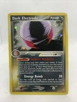 2004 Dark Electrode ULTRA RARE holo Ex Team Rocket Set Pokemon Card NM 4/109