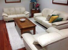 Brescia 3 Piece Leather Lounge Suite