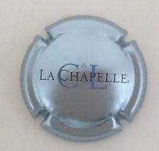 capsule champagne CL DE LA CHAPELLE n°16 fond bleu clair