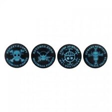 Placas frontales y etiquetas azul para consolas y videojuegos