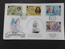 1976 U.S Bicentenary FDC carried on Board Sir Winston Churchill Bermuda to New Y