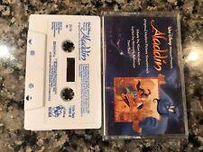 Aladdin Original Motion Picture Soundtrack Cassette!