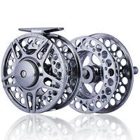 Fly Fishing Reel FF1/2 3/4 5/6 7/8 9/11 Aluminum Alloy CNC-Machined Spool Reels