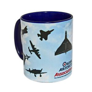 RAF Mug silhouette aircraft coffee cup Royal Air Forces Association