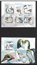 Guinea Bissau 9504ab - Penguins. Souvenir Sheets. MNH OG.#02 GUINBISS9504