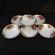 Royal Albert Old Country Rose Set di sei piccoli frutti ciotole 15.5cm
