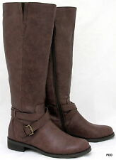 Kenneth Cole Reaction Women's Riding Boots Brown Sz 6 Gwen NIB Knee High Boot