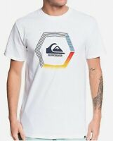 Quiksilver Mens T-Shirt White Size Small S Blade Dreams Graphic Tee $25- 397