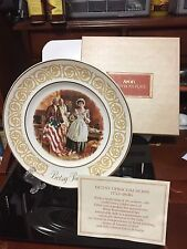 Avon Betsy Ross Plate Enoch Wedgwood 1973