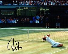Richard KRAJICEK Signed 10x8 Autograph Photo AFTAL COA Wimbledon Tennis player