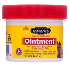 CORONA OINTMENT Lanolin Enriched Formula & Antiseptic Horses Other Animals 2oz