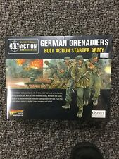 Bolt Action German Grenadiers Starter Army Factory Sealed