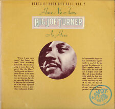 "BIG JOE TURNER ""HAVE NO FEAR, B.J. TURNER IS HERE"" 70'S DOUBLE LP SAVOY 2223"