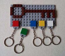 Unique ORIGINALE LEGO PORTACHIAVI key holder Grigio Chiaro Natale/Regalo Di Compleanno AFOL