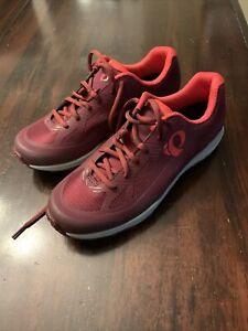 Pearl Izumi X-Alp Canyon Cycling Shoes Dark Red Womens Sz EU 42 US 11.5 New