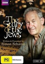 STORY OF THE JEWS, THE - With Simon Schama (DVD, R2/4, 2-Disc Set, Free Postage)