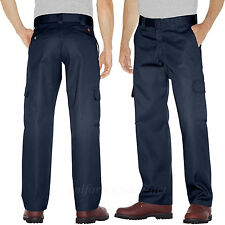 Dickies Work Pants Men Relaxed Straight Leg CARGO Pocket Pant WP592 Colors 30-44