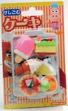 Set of 10 IWAKO Japanese Eraser Dessert Set - Colors Vary Kid Toy S-1840x10