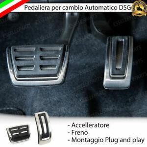 SET PEDALIERA COPRIPEDALI COPRI PEDALI PER CAMBIO AUTOMATICO S-TRONIC AUDI A4 B9