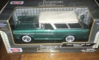 MOTORMAX 1/24 SCALE 1955 CHEVROLET BEL AIR NOMAD MODEL | BN | 73248AC-GR