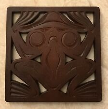 Boma Trivet Frog Recycled Glass Canadian Art