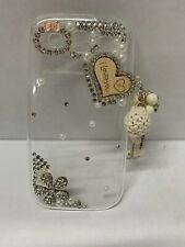 Samsung Galaxy S3 cellphone JEWEL CASE BLING