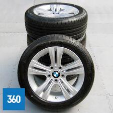 "Genuine BMW serie 3 4 19"" 392 5 doppio ha parlato cerchi in lega Set pneumatici BRIDGESTONE"