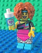 Lego 71018 series 17 DANCE INSTRUCTOR Water bottle Minifigures City Town New