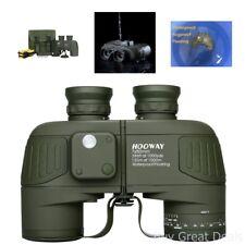 Hooway 7x50 Waterproof Floating Marine Binocular w/ Internal Rangefinder