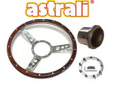 """Astrali ® 13"""" Pollice Classica in Legno a forma di piatto VOLANTE & Boss Per Triumph Spitfire"""