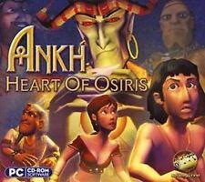 Ankh Heart of Osiris  PC Adventure Game  XP Vista 7 8  Brand New Sealed