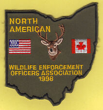 Pa Pennsylvania Fish Game Commission COPA NEW 1998 Ohio Conference NAWEOA Patch